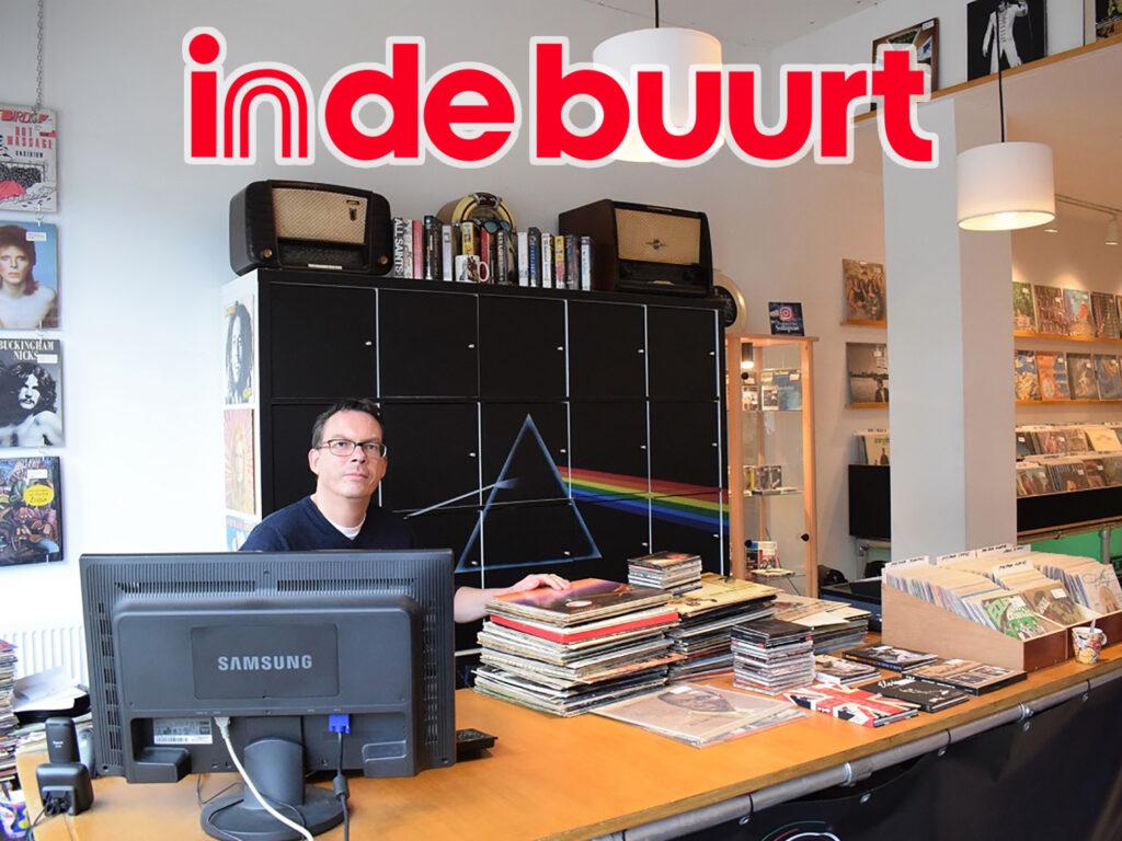 De Platenzaak Eindhoven in de media | in de buurt artikel oktober 2020